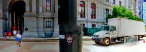 Street Art in Context Broad Street at North Penn Square Philadelphia, PA Copyright 2014, Bob Bruhin. All rights reserved.